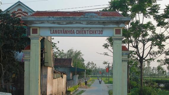 Làng K130 ở xã Tiến Lộc, huyện Can Lộc, tỉnh Hà Tĩnh
