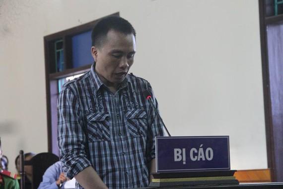 Bị cáo Phan Đình Quân tại phiên tòa