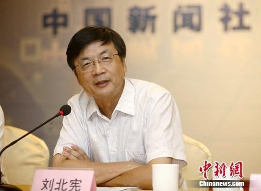 Ông Lưu Bị Hiền là Tổng biên tập hãng tin China News từ tháng 2-2009 đến tháng 2-2015. Ảnh: CHINA NEWS