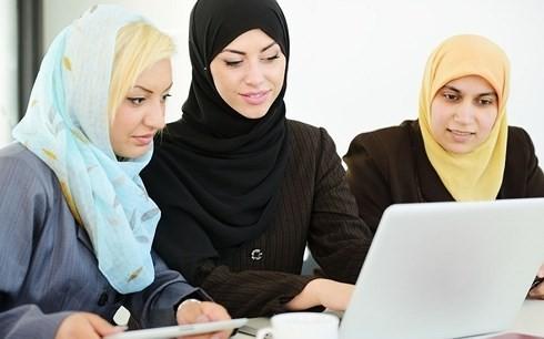 Phụ nữ Saudi Arabia giờ đã có thể nhập ngũ. Ảnh: AP