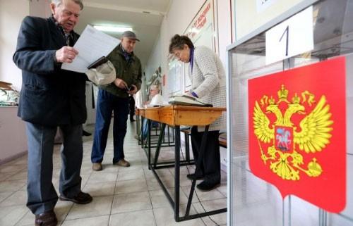 Bầu cử tổng thống Nga sẽ diễn ra ngày 18-3. Ảnh: TASS