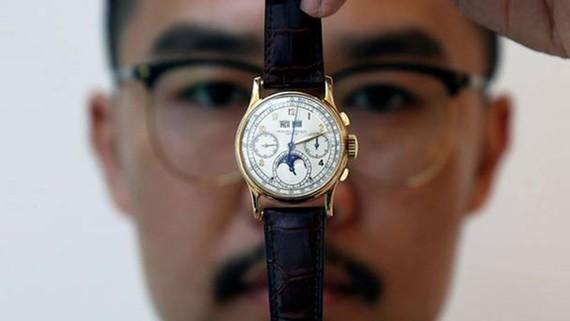 Đấu giá đồng hồ quý của nhà vua Ai Cập