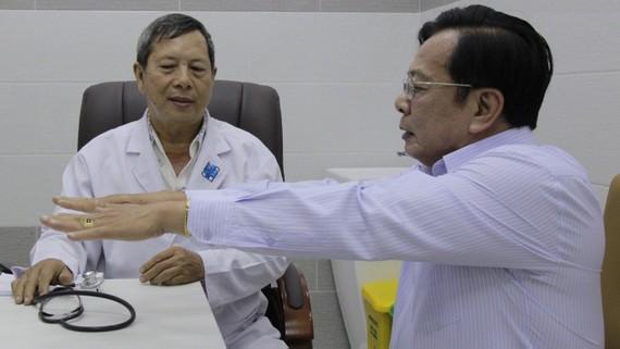 Lần đầu tiên bệnh viện quận có phòng khám chuyên gia
