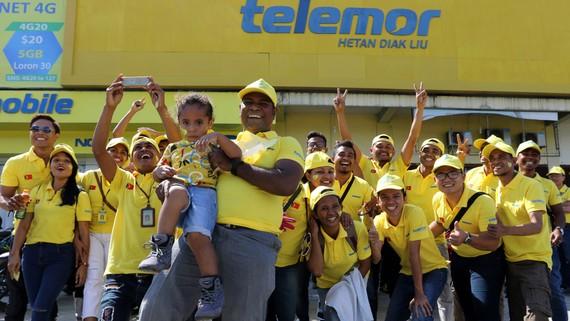 Mạng 4G Telemor của Viettel đầu tư ở Đông Timor