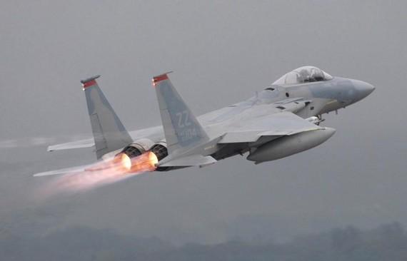 Máy bay chiến đấu F-15. Nguồn: REUTERS