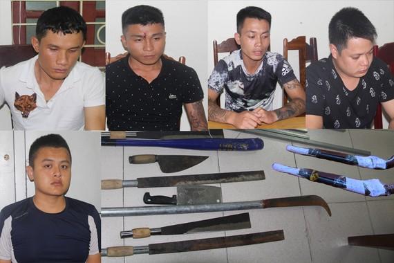 Nhóm đối tượng chuyên dùng súng bắn vào nhà dân sa lưới