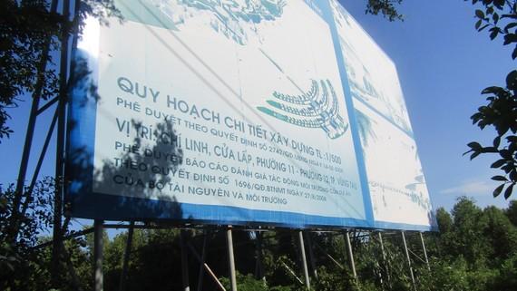 DA khu du lịch nghỉ mát giải trí đa năng Saigon Atlantis (4,1 tỷ USD)  sau 12 năm vẫn chỉ là khu đất với cây cối mọc um tùm