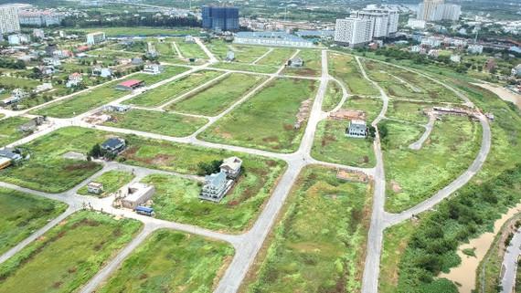 Đất nền phân lô tại quận 9                                    Ảnh: CAO THĂNG