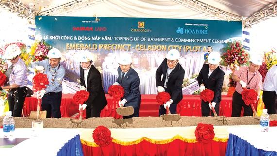 Hòa Bình khởi công giai đoạn 3 dự án Celadon City trị giá gần 660 tỷ đồng
