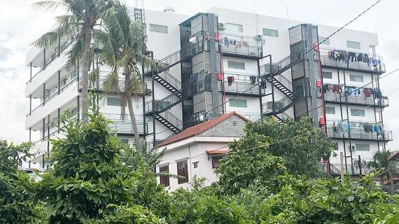 Công trình xin phép xây dựng nhà ở riêng lẻ đã biến thành chung cư