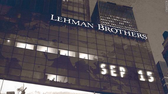 Năm 2008, sau 158 năm hoạt động, ngân hàng đầu tư Lehman Brothers của Mỹ đệ đơn xin bảo hộ phá sản với khoản nợ lên tới 619 tỷ USD