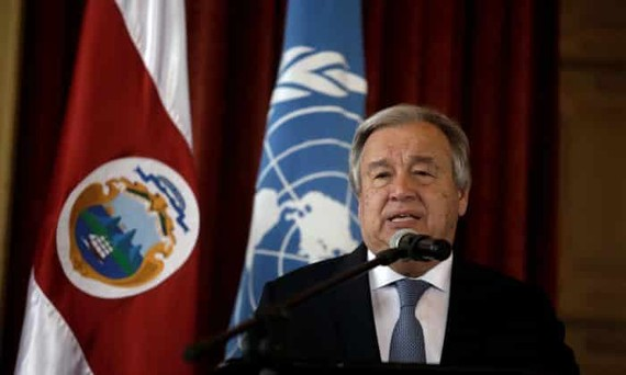 Tổng thư ký LHQ Antonio Guterres. Nguồn REUTERS