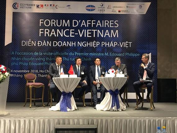 Doanh nghiệp Pháp và Việt Nam trao đổi nhằm tìm kiếm cơ hội hợp tác đầu tư, phát triển thị phần tại Việt Nam