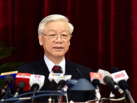 Tổng Bí thư, Chủ tịch nước Nguyễn Phú Trọng. Ảnh: VGP