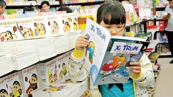 Các loại xuất bản phẩm dành cho trẻ em cần phải ghi rõ độ tuổi ở trang bìa