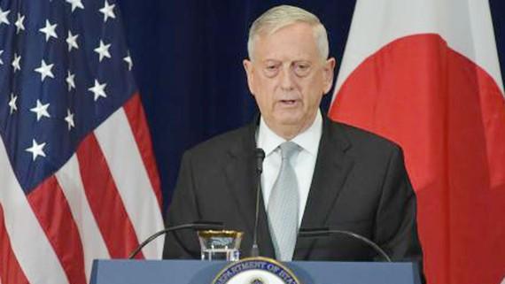 Bộ trưởng Quốc phòng Mỹ James Mattis