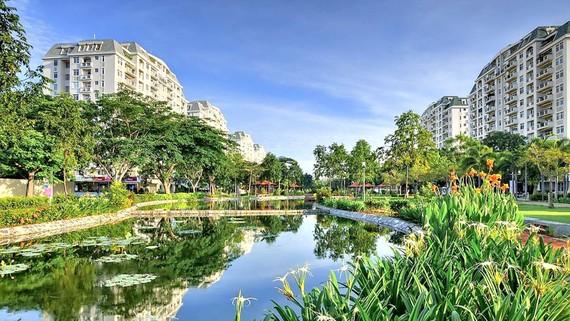 Người mua nhà thường chọn dự án có nhiều không gian xanh, tiện ích. Ảnh: Huy Anh