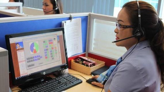 Trung tâm Chăm sóc khách hàng 1900545454, nơi tiếp nhận các yêu cầu về điện của Tổng Công ty Điện lực TPHCM
