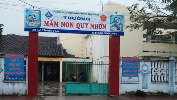 Bình Định: Cách chức hiệu trưởng trường mầm non do ưu ái con gái