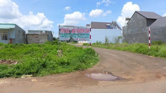 Phân lô bán nền băm nát quy hoạch tổng thể đô thị Đồng Xoài