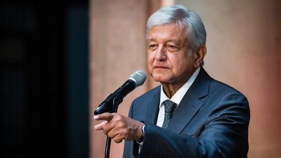 Tổng thống đắc cử Mexico Andres Manuel Lopez Obrador. Nguồn: Zimbio