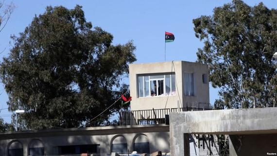 Nhà tù Aine Zara ở Tripoli, Libya. Ảnh: REUTERS