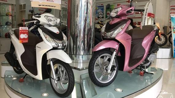 Vision là dòng xe tay ga bán chạy nhất của Honda Việt Nam trong tháng 8-2018