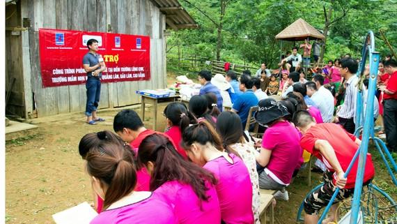 PV GAS góp phần ủng hộ xây dựng điểm trường Lũng Kim, Cao Bằng