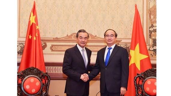 Lãnh đạo TPHCM tiếp Bộ trưởng Bộ Ngoại giao Trung Quốc