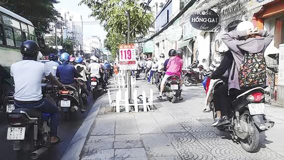 Thói quen xấu của người tham gia giao thông ở đô thị