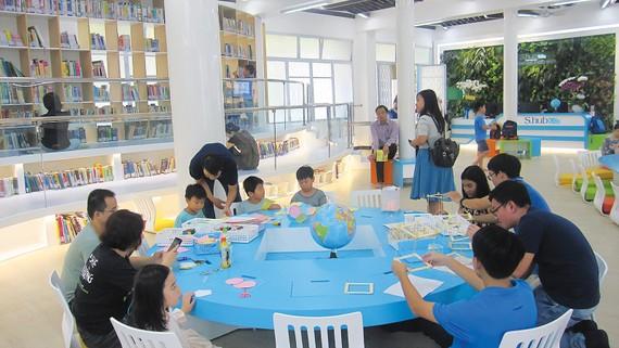 S.Hub Kids là thư viện thông minh đầu tiên dành cho thanh thiếu nhi của TPHCM