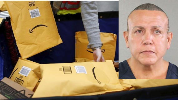 Giới chức Mỹ cáo buộc nghi can gửi bưu kiện chứa chất nổ nhiều tội danh