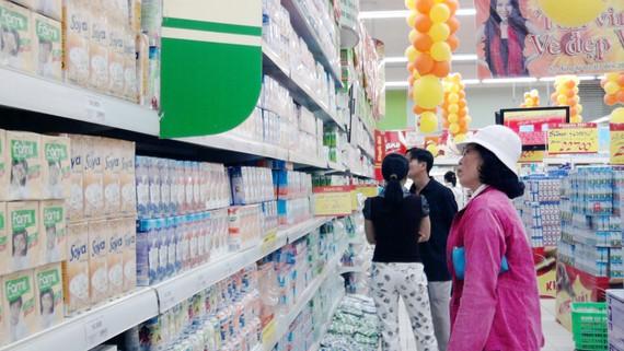 Người tiêu dùng có nhiều sự lựa chọn thương hiệu sữa để sử dụng