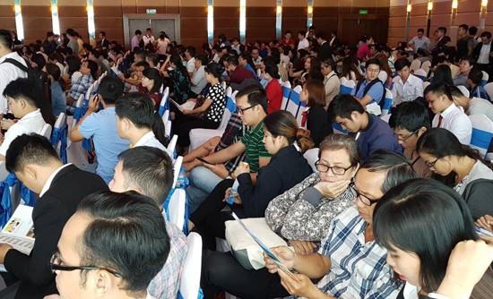 Dự án EHomeS Nam Sài Gòn nhận được sự quan tâm đông đảo của người mua nhà.