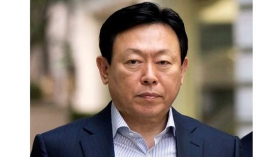 Chủ tịch tập đoàn Lotte Shin Dong-bin. Nguồn: The Japan Times