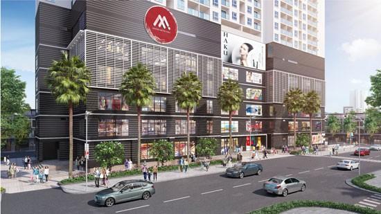 Phối cảnh dự án Saigon Metro Mall
