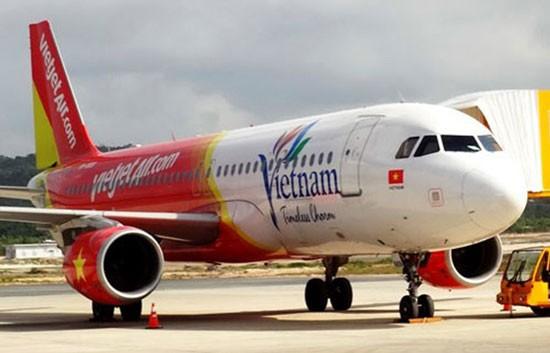 Vietjet ngừng 4 chuyến bay tại Chu Lai vì thời tiết xấu