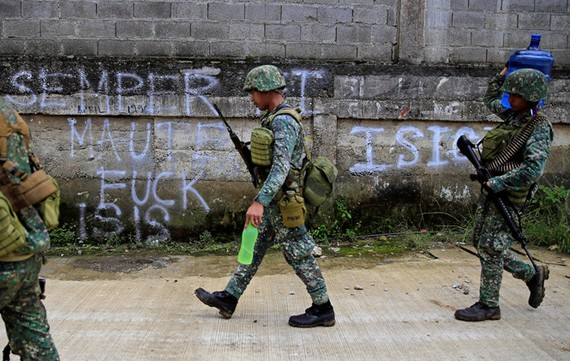 Đã 2 tuần trôi qua, tình hình Marawi vẫn chưa hết căng thẳng