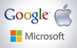 Apple, Google và Microsoft đang nắm 464 tỷ USD tiền mặt