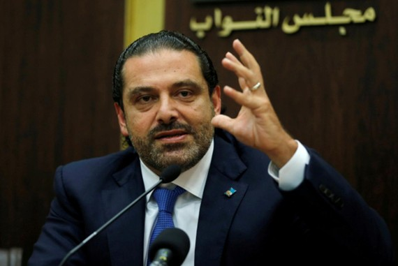 Thủ tướng Liban Saad Hariri. (Nguồn: Reuters)