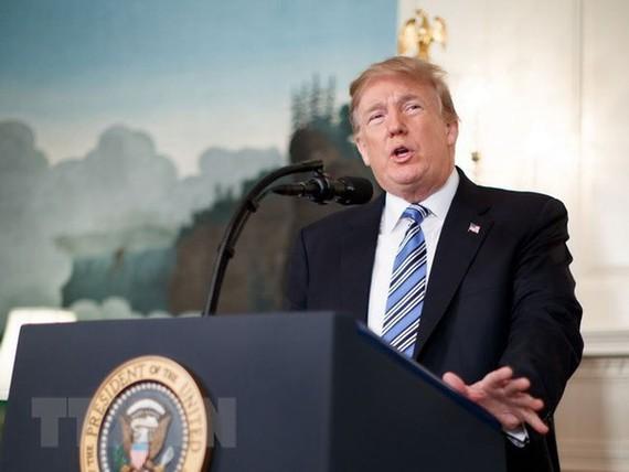 Tổng thống Mỹ Donald Trump. (Nguồn: THX/TTXVN)