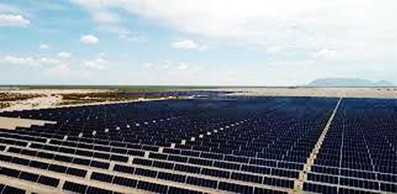 Công viên điện mặt trời lớn nhất châu Mỹ