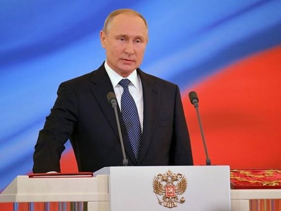 Tổng thống Nga Vladimir Putin (Nguồn: THX/TTXVN)
