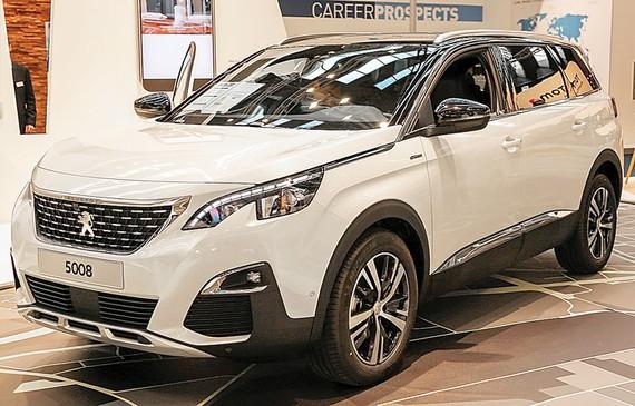 Tháng 6-2018, bộ đôi 5008 và 3008  hút khách, Peugeot tăng trưởng mạnh