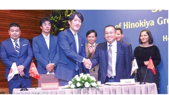 TWGroup Corporation ký kết hợp tác chiến lược cùng Tập đoàn Hinokiya Nhật Bản
