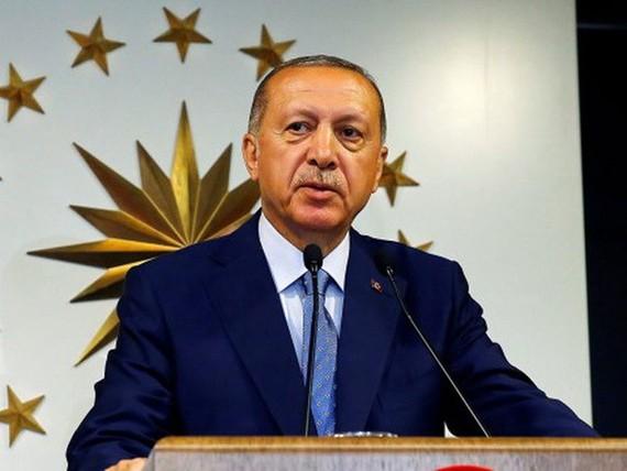 Tổng thống Thổ Nhĩ Kỳ Tayyip Erdogan. (Nguồn: Reuters)