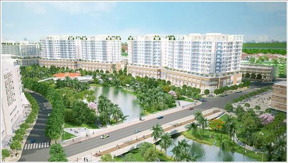 Tòa nhà Thaco Building ở quận 2, đi vào hoạt động sẽ góp phần làm phong phú thị trường văn phòng cho thuê tại TP.HCM