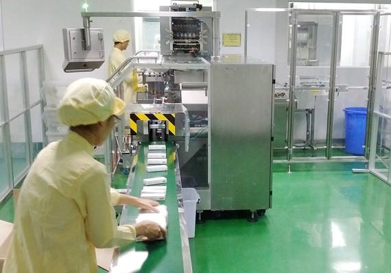 Một nhà máy TPCN có quy trình không sinh bụi, không tiếp xúc, hệ thống quản lý hiện đại