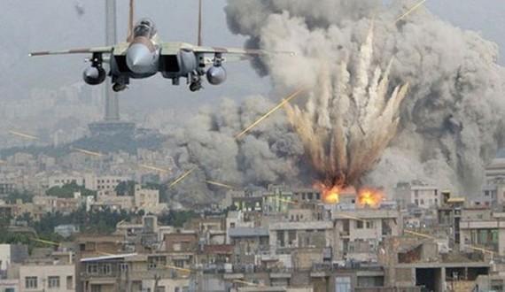 Một cuộc không kích của Mỹ tại Syria. Ảnh: Premium Times.