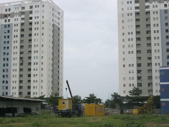 Khu vực được quy hoạch xây dựng Trạm ép rác kín  Ảnh: TRÀ GIANG